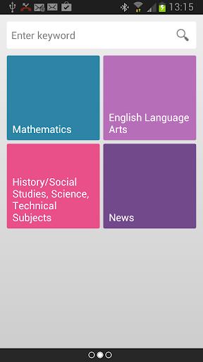 Common Core Resource Search