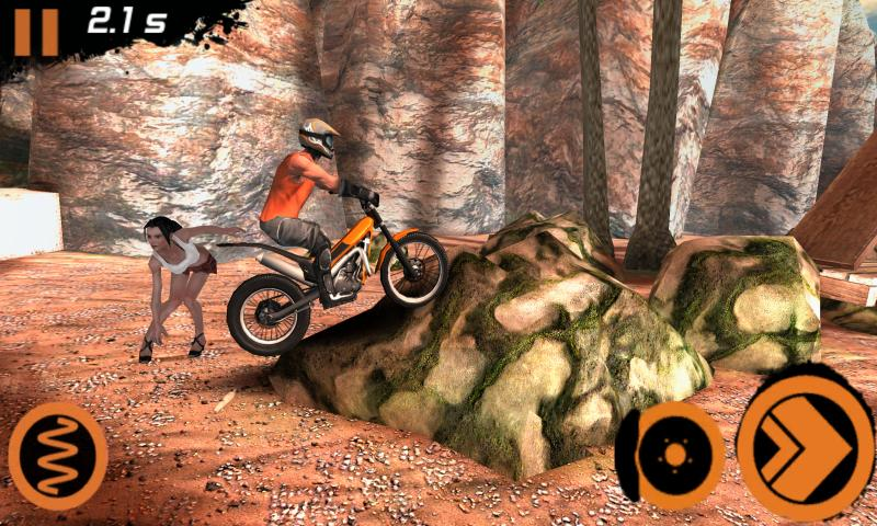 Trial Xtreme 2 Racing Sport 3D- screenshot