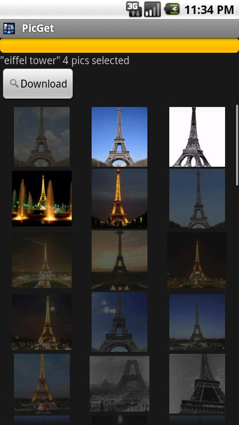 PicGet(Wallpaper Search)- screenshot
