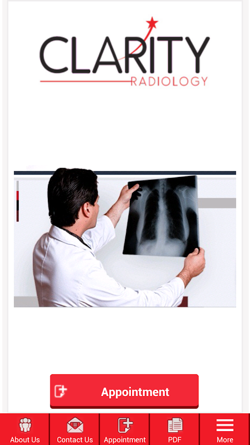 Clarity Radiology- screenshot