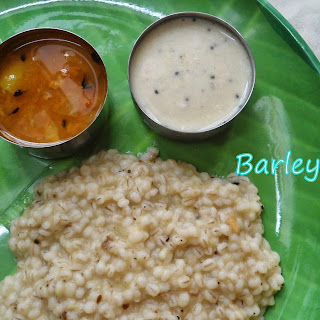 Barley Pongal | Healthy Indian Breakfast.