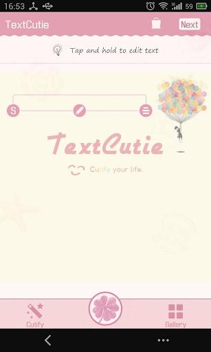 TextCutie