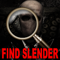 Find Slender Man Horror Puzzle icon