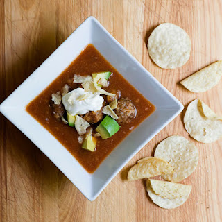 Mexican Meatball Soup.