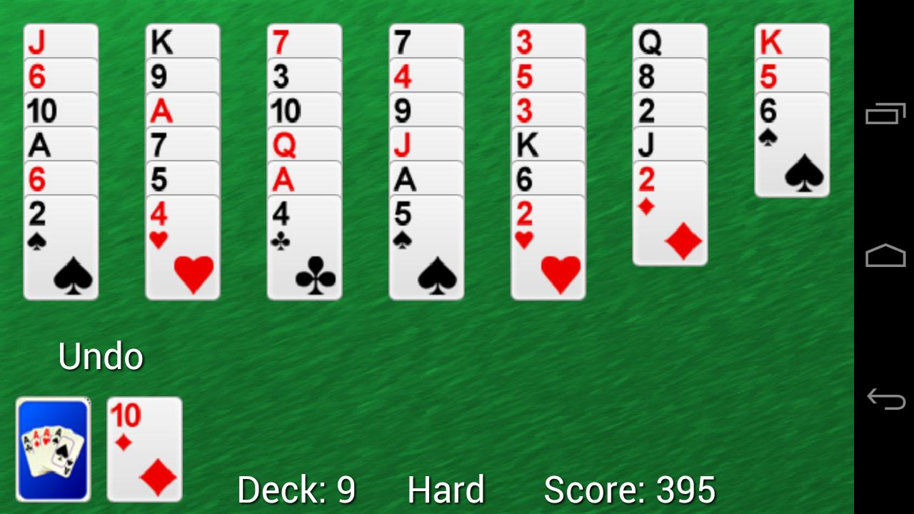 Solitaire Golf Pro - screenshot