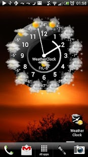 Weather Clock Unlock- screenshot thumbnail