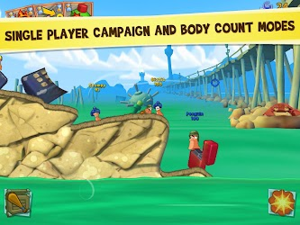 Worms 3 v1.82 Apk + OBB Data 1