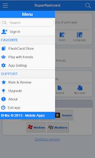 MCAD Flashcards - screenshot thumbnail