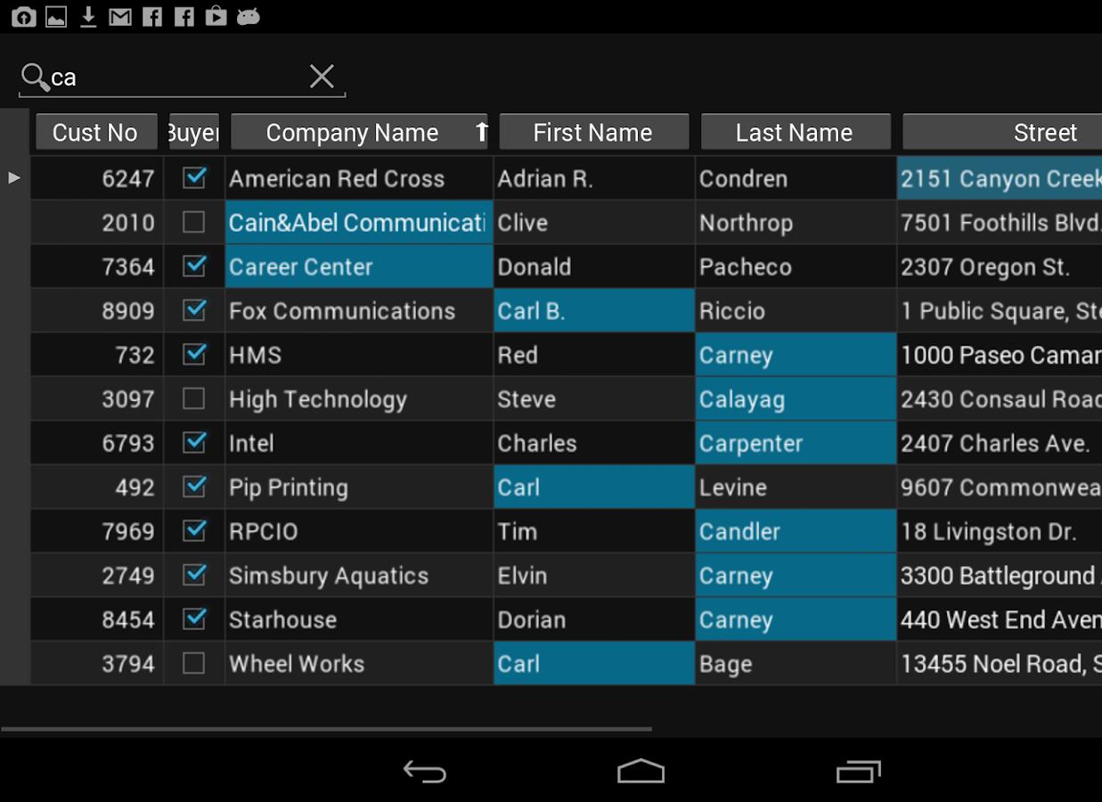 FirePower 4.1 Demo for Delphi - screenshot