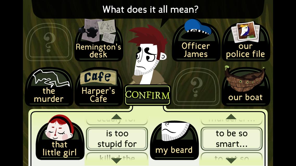 Detective Grimoire screenshot #1