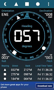 Digital Field Compass- screenshot thumbnail