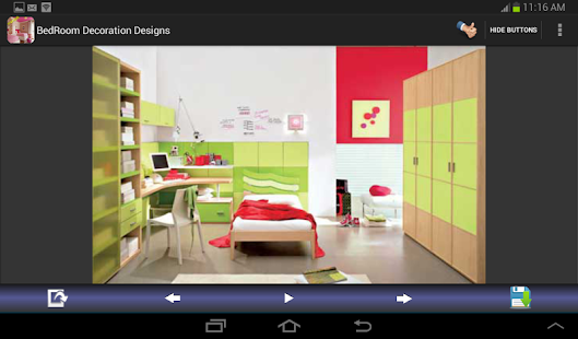 Bedroom Decoration Designs - screenshot thumbnail