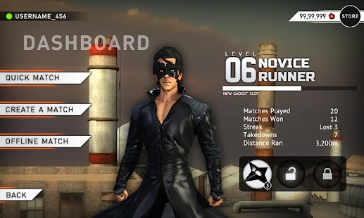 Krrish 3: The Game v1.0.0 apk download
