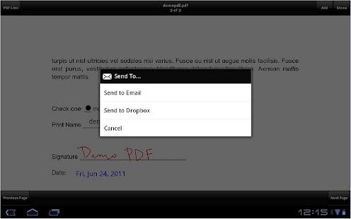 SignMyPad Pro - screenshot thumbnail