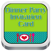 Dinner Party Invitations Cards