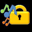 Rhythm key lock passcode icon