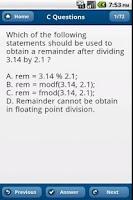 Screenshot of C,C++ Questions,Puzzles