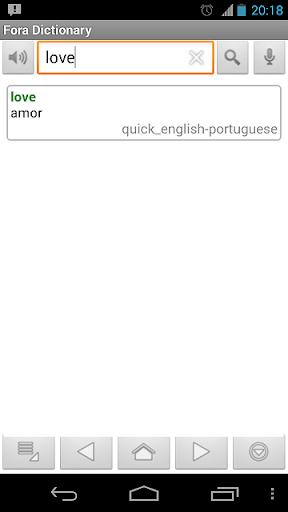 【免費書籍App】Portuguese Dictionary-APP點子