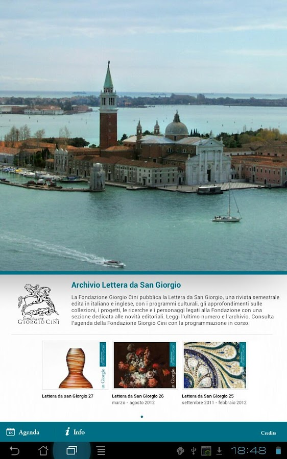 Fondazione Giorgio Cini- screenshot