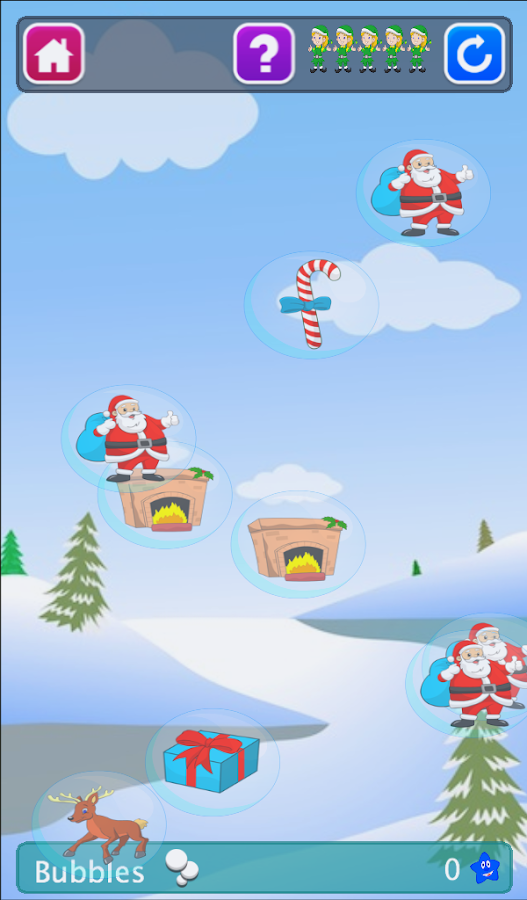 Plume's School Christmas Lite - screenshot