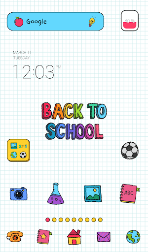 back to school dodol theme