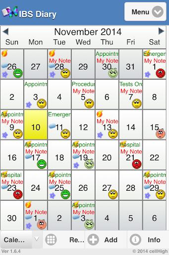 IBS Diary