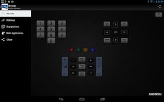 Screenshot of Remote for Samsung TV