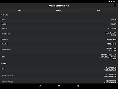 AnTuTu Benchmark v5.6.1 build 5060101
