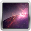Andromeda Space Live Wallpaper icon