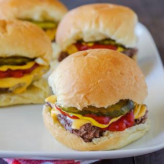 Cheeseburger Sliders.