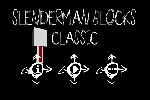 SlenderMan Blocks Classic
