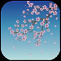 Sakura blossom icon
