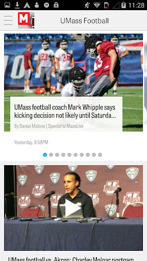 MassLive.com: UMass Football