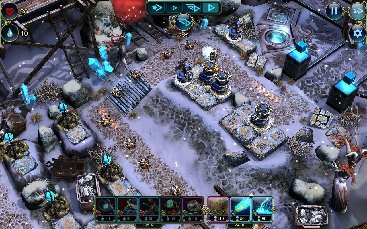 Defenders: TD Origins screenshot #22