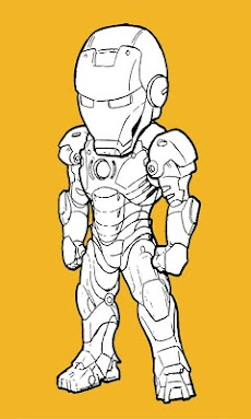 Paint Iron Man HDのおすすめ画像1