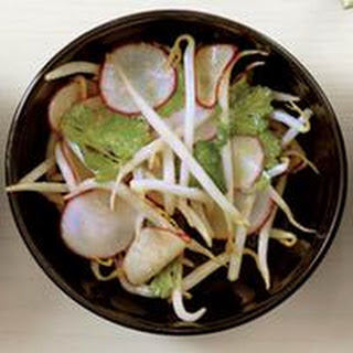 Bean Sprout-and-Red Radish Salad
