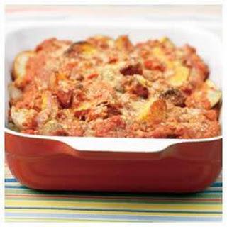 Italian-Style Saucy Roasted Potatoes.
