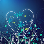 zzzHeart Flower lwp icon