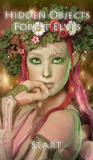 Hidden Objects Forest Elves