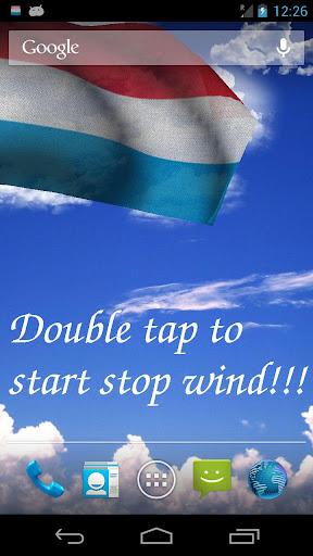 3D盧森堡國旗歌