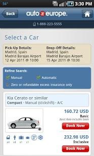 Auto Europe- screenshot thumbnail
