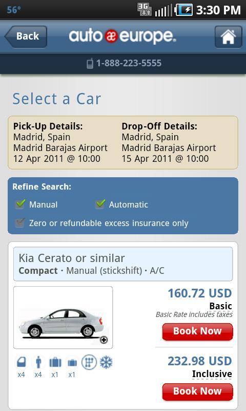 Auto Europe- screenshot