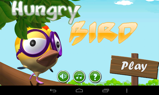 Hungry Birds Free Game App