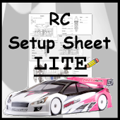 Rc Car Setup Sheet LITE