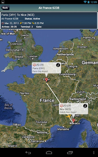 Paris Orly Airport + Tracker