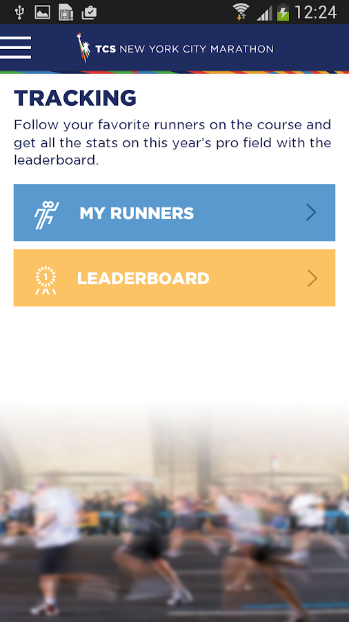 TCS NYC Marathon - screenshot