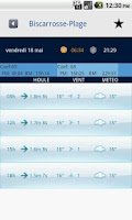 Screenshot of Surf Report OSR France