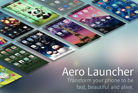 Aero Launcher - Live Wallpaper Screenshot
