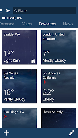 MSN Weather - Forecast & Maps 1.1.0 screenshot 18625