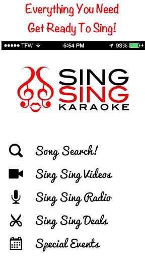 Sing Sing Karaoke